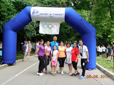 Alergam si pentru Spitalul Copiilor, in spirit olimpic