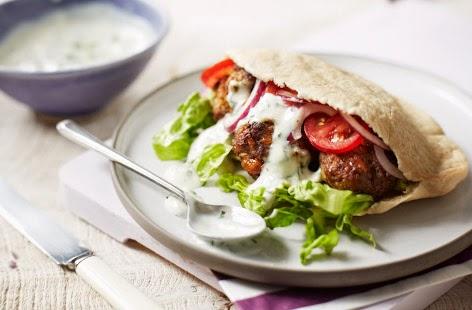 Lamb and apricot kofta kebabs recipe