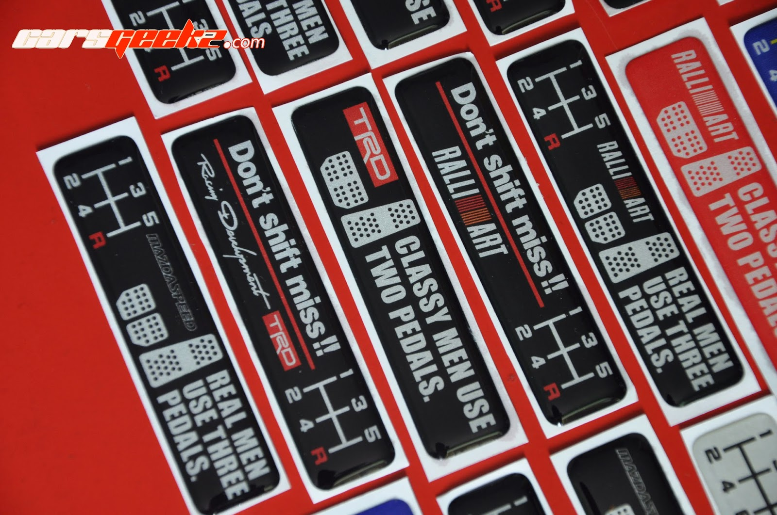 ted development epoxy sticker