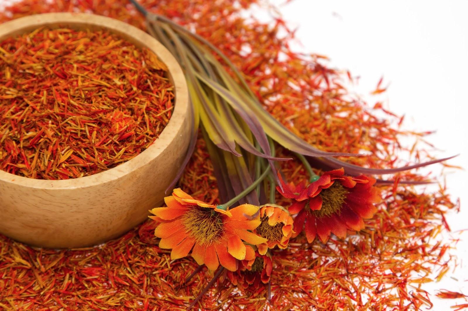 Safflower herbs