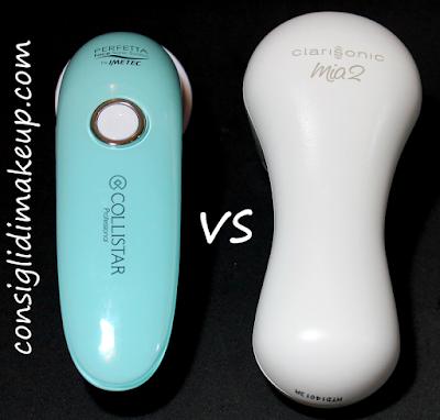 device pulizia pelle confronto mia2 contro face sonic system