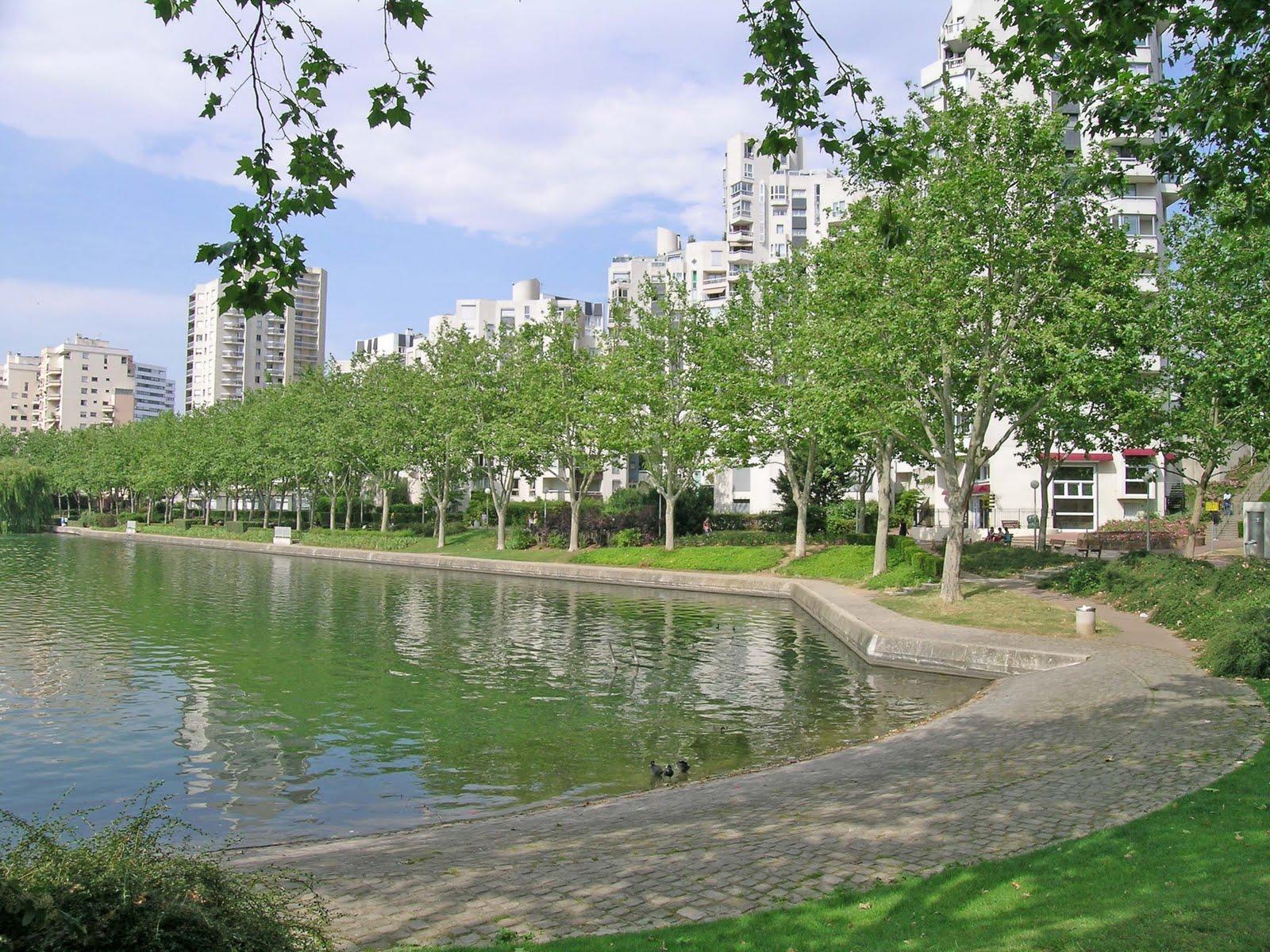Creteil France  city photos : Créteil, Allée de la Toison d'or, vue du quai de la Croisette