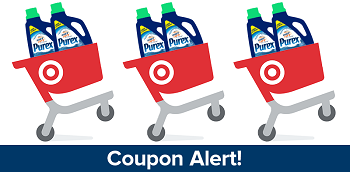 Save On Purex With Target's Cartwheel Offer
