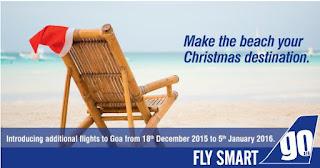 GoAir :: Christmas - New Year Flights