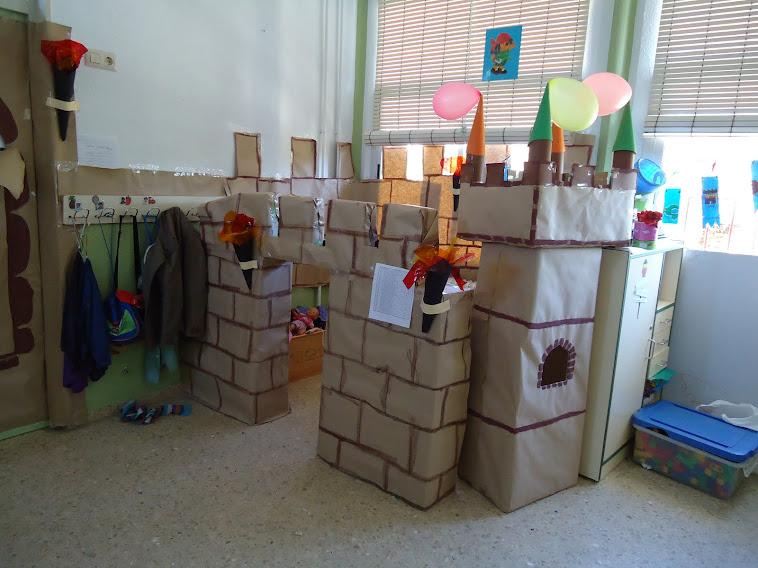 Proyecto Castillo. Aula 5 años.