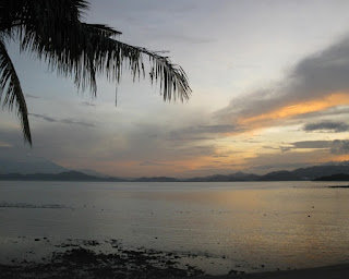 sunset di gili nanggu
