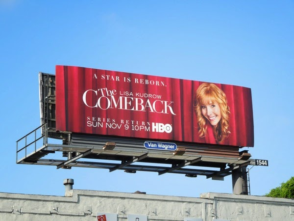 The Comeback series return billboard