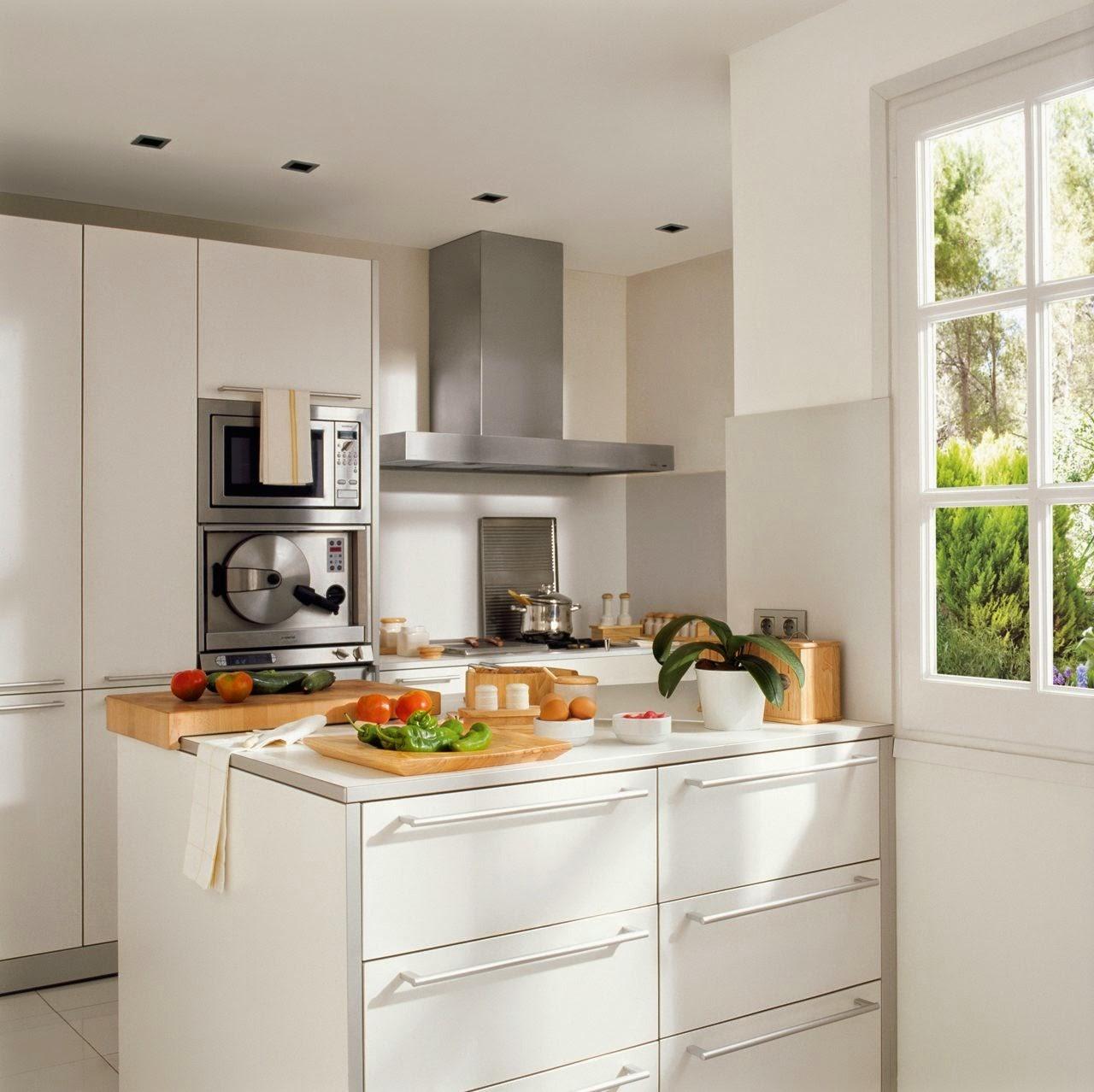 Decoración Fácil: 10 Ideas para cocinas pequeñas #Small & Lowcost
