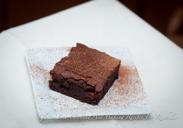 To Die For Gluten-free Dairy-free Fudgy Brownies