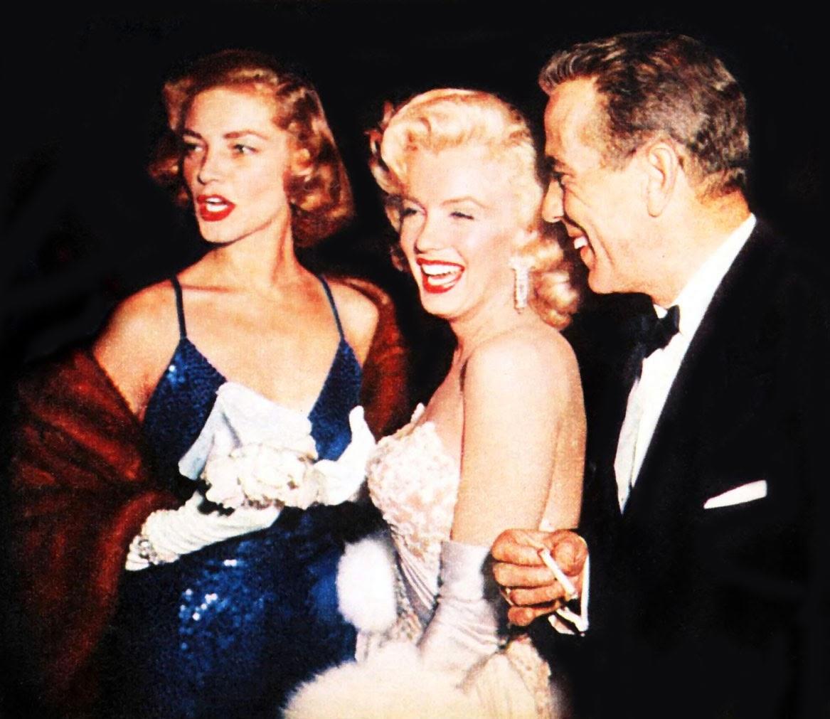 Bacall, Monroe y Bogart nuevamente.