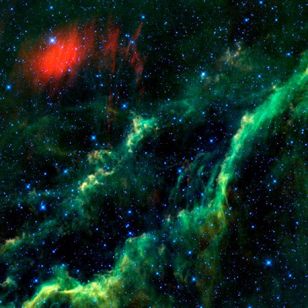 The California Nebula (part of the Orion complex)