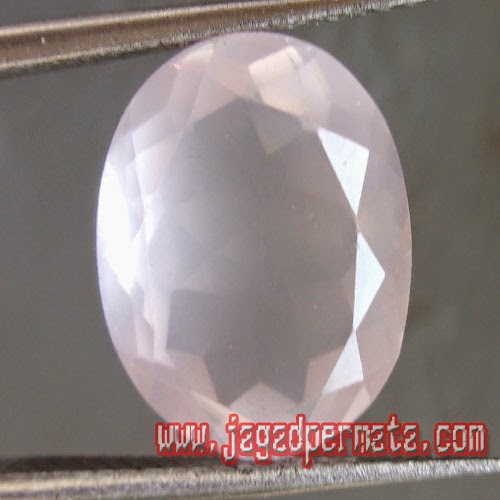 Batu Permata Rose Quartz Natural