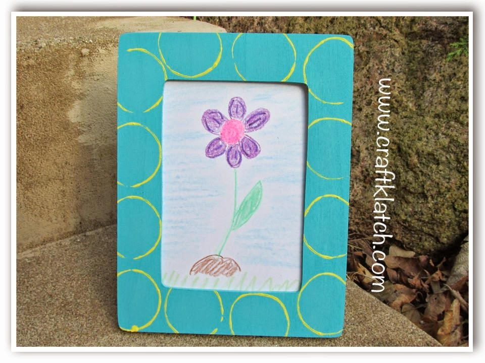 Craft Klatch ®: Easy DIY Stamped Frame a Perfect Mother\'s Day Gift ...