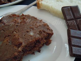 Budino di pane e cioccolata