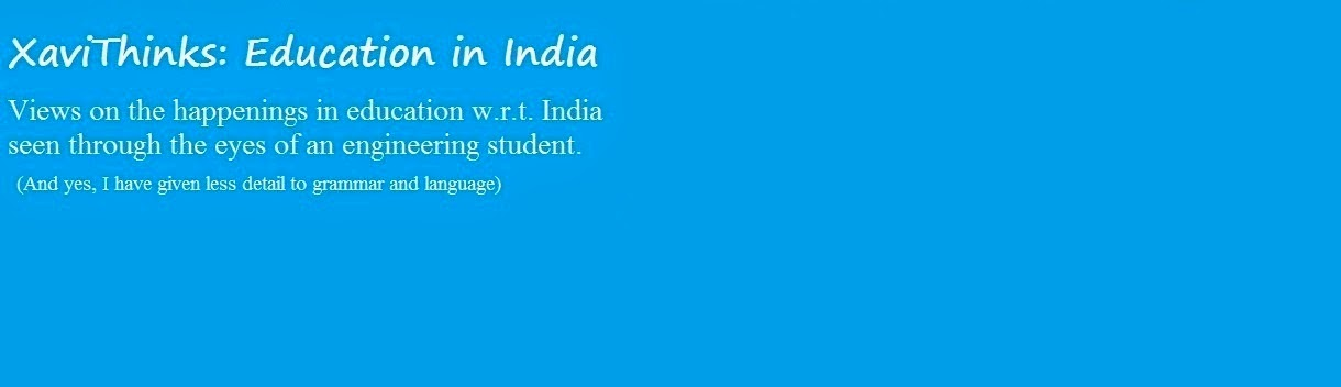 XaviThinks: Education in India