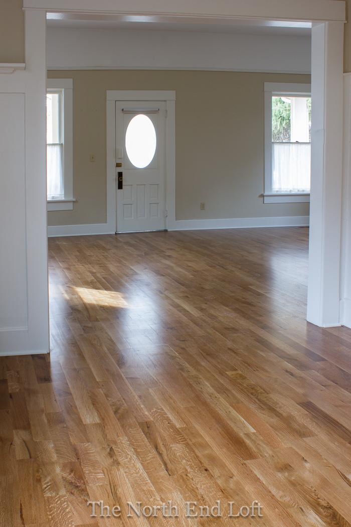 The north end loft new hardwood floors reveal for North wood flooring