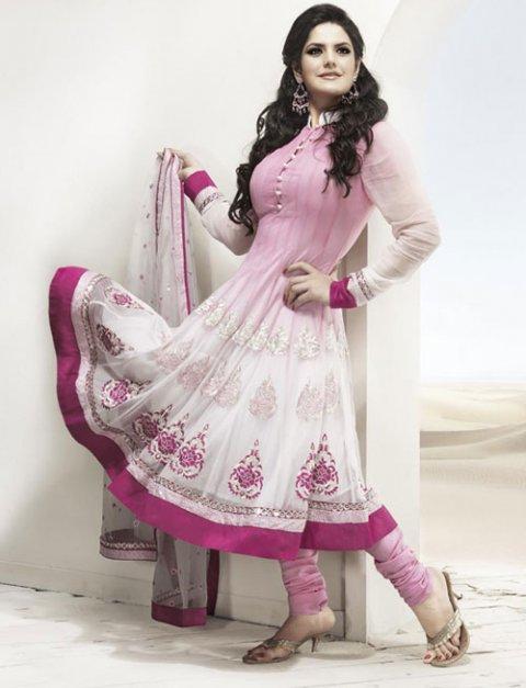 Anarkali stylish frock