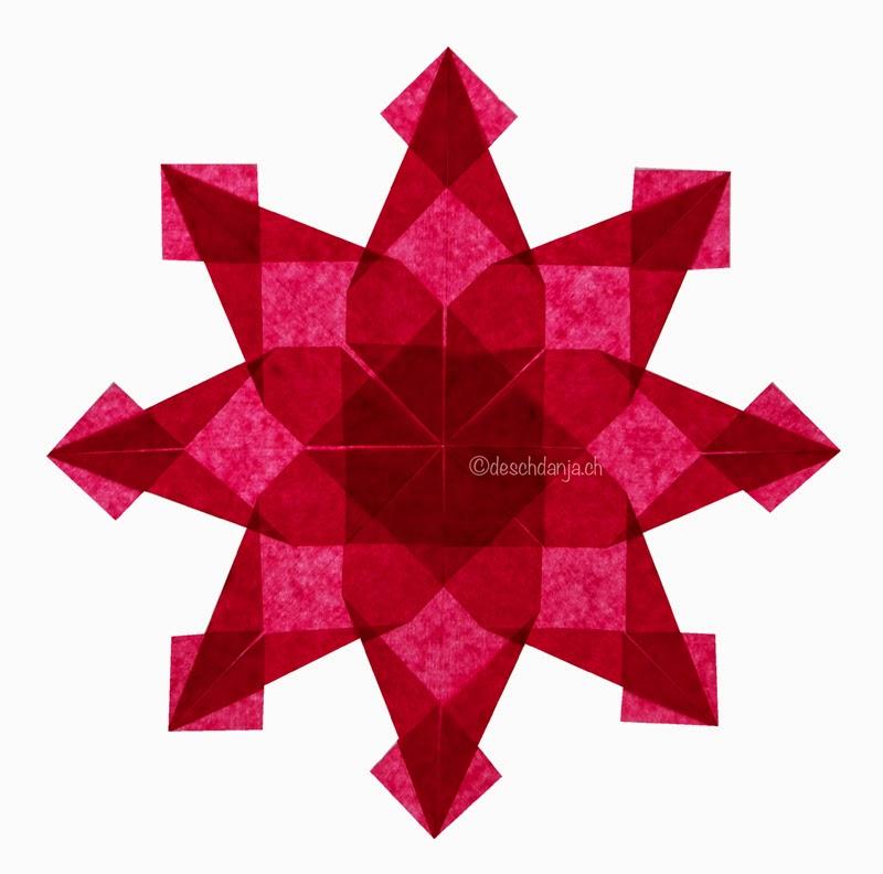 Magical window Stars Origami