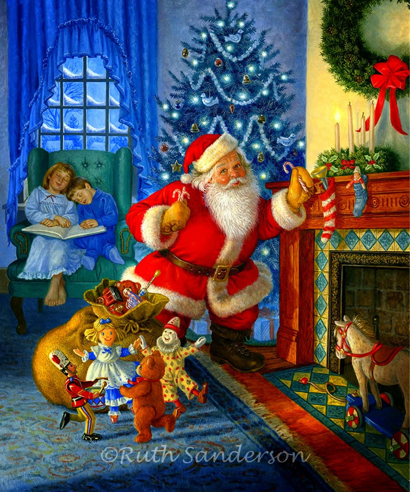 Im genes arte pinturas ideas originales para cuadros for Cuadros de navidad