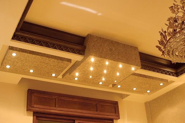 10 unique false ceiling designs made of gypsum board home - Living Room Design