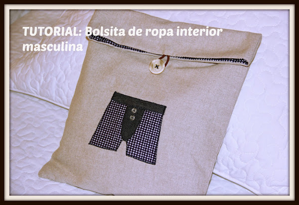Bolsa para guardar ropa interior aprender manualidades for Ropa interior masculina