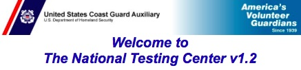 USCG Auxiliary National Testing Center
