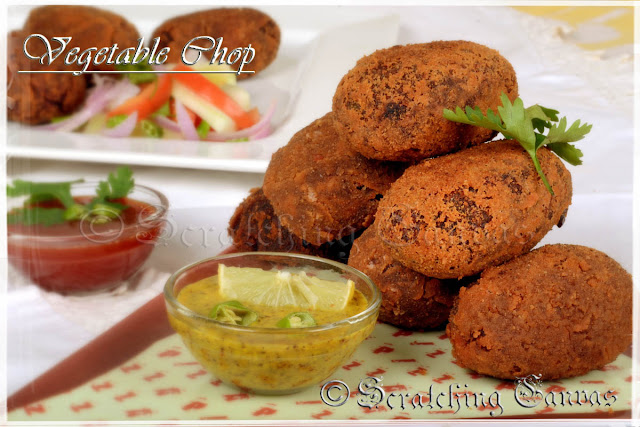 Bengali Vegetable Cutlet