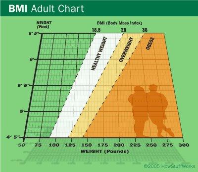 Body Mass Index (BMI) untuk mengukur kandungan lemak dalam badan from premium beautiful shop adibahkarimah