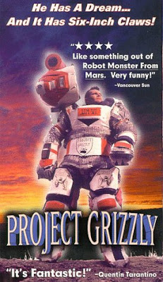 Project Grizzly, Troy Hurtubise, poster, movie, documentary