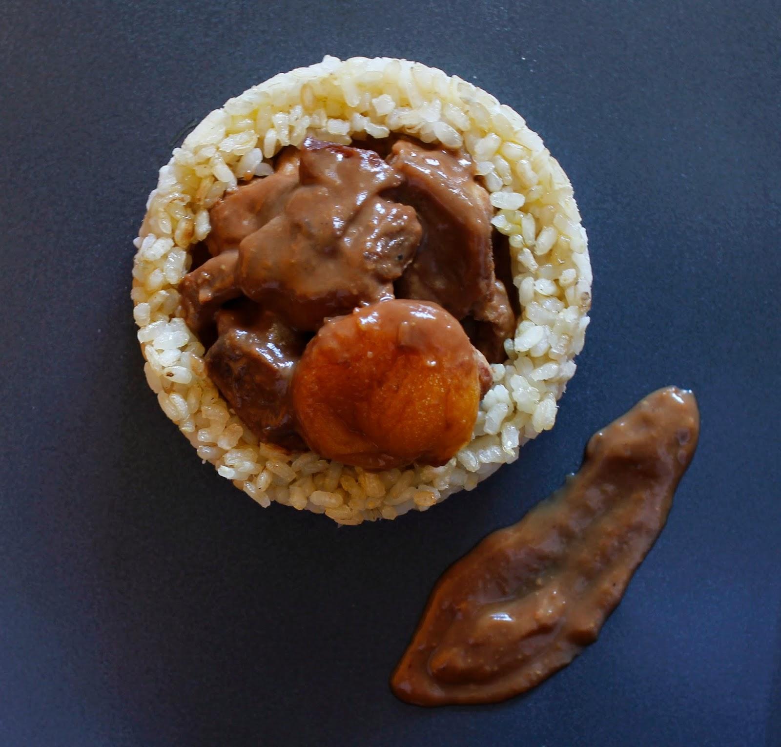 Ragout de pavo en salsa de tamarindo