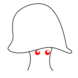 How To Draw A Kawaii Mushroom Step 3