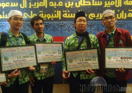 http://arminarekajatim.blogspot.com/2014/05/berkah-akrabi-quran-dapat-haji-dan.html