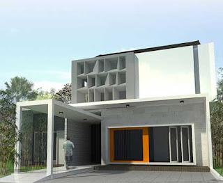 Model Gambar Rumah Minimalis 1 Lantai yang Modern