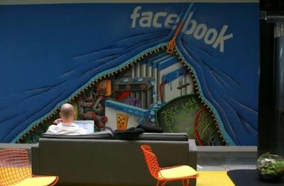 أحدث مكتب لموقع الفيس بوك-منتهى