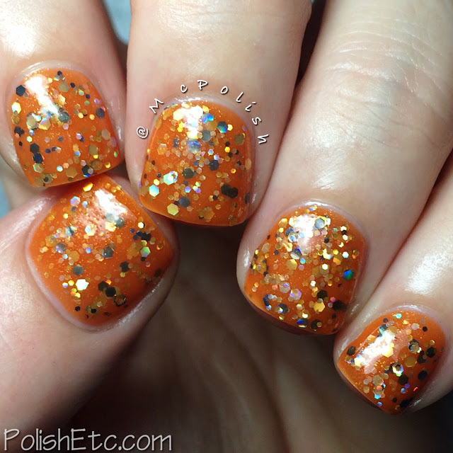 Ellagee - Brunch with Unicorns - McPolish - orange jelly sandwich