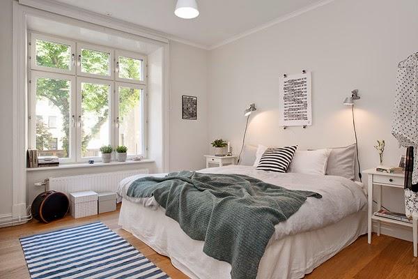 20 quartos pequenos estilo n rdico decora o e ideias - Cama estilo nordico ...