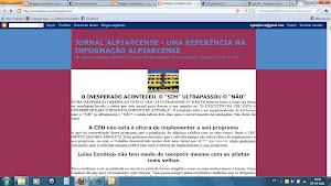 Jornal Alpiarcense. Uma clarificação que se impõe