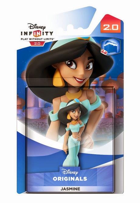 JUGUETES - DISNEY Infinity 2.0   Figura Jasmin | Jasmine  (2015) | Muñeco | Videojuegos | Disney Originals  Videojuegos | Producto Oficial | A partir de 7 años  Xbox One, PlayStation 4, Nintendo Wii U, PlayStation 3, Xbox 360