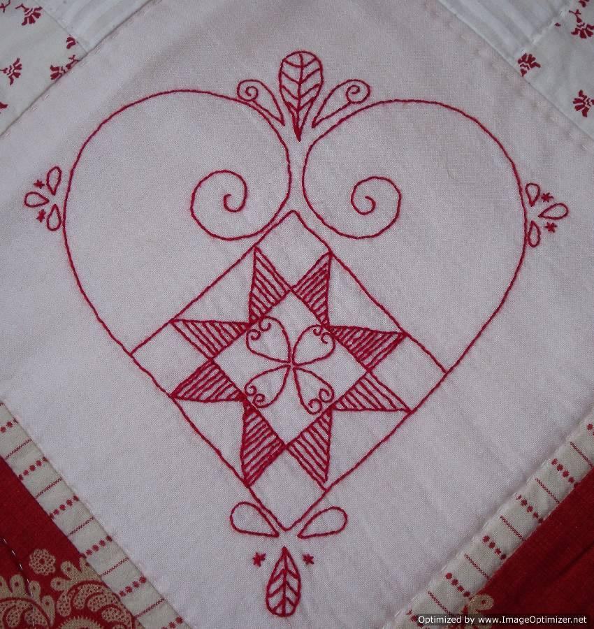 Carole johnston scandinavian christmas hearts tablecloth for 12 days of christmas table cloth
