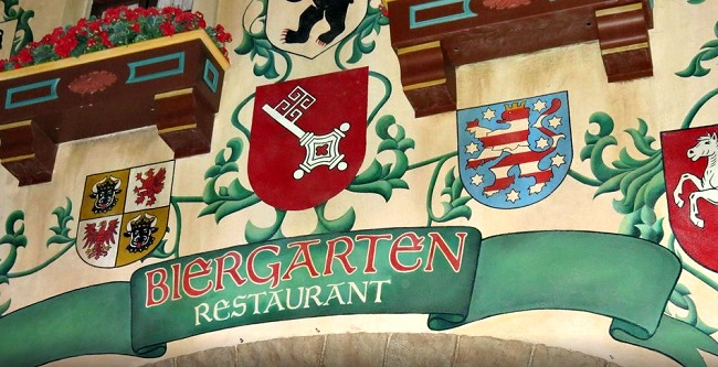 Disney World Recap - Biergarten Restaurant is a great place for lunch or dinner, it's a buffet so eat up!