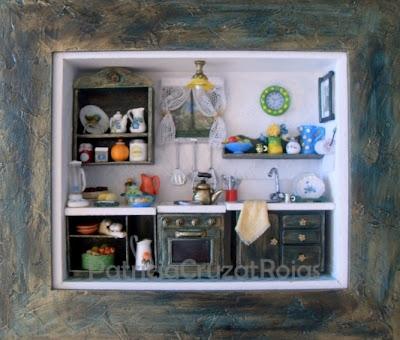 Patricia cruzat artesania y color para los que aman cocinar - Cocinas de cocinar ...