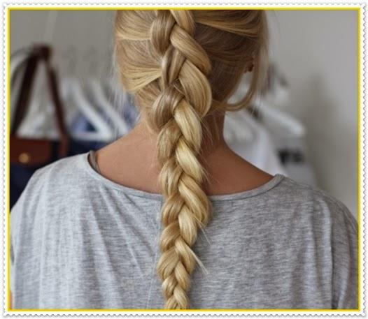 Einfache und schöne geflochtene Frisuren 2014