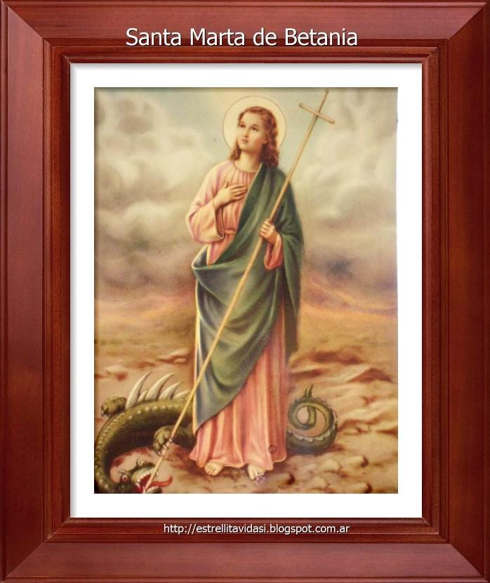 Santa Marta -Patrona de las ama de casa