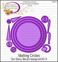 ODBD Custom Mating Circles Dies