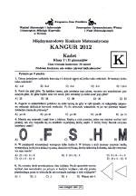 Matematyka W 13 Tce Kangur