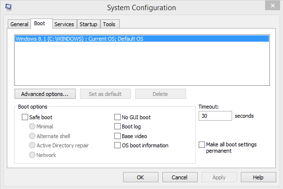 How To Boot Into Safe Mode On Windows 8