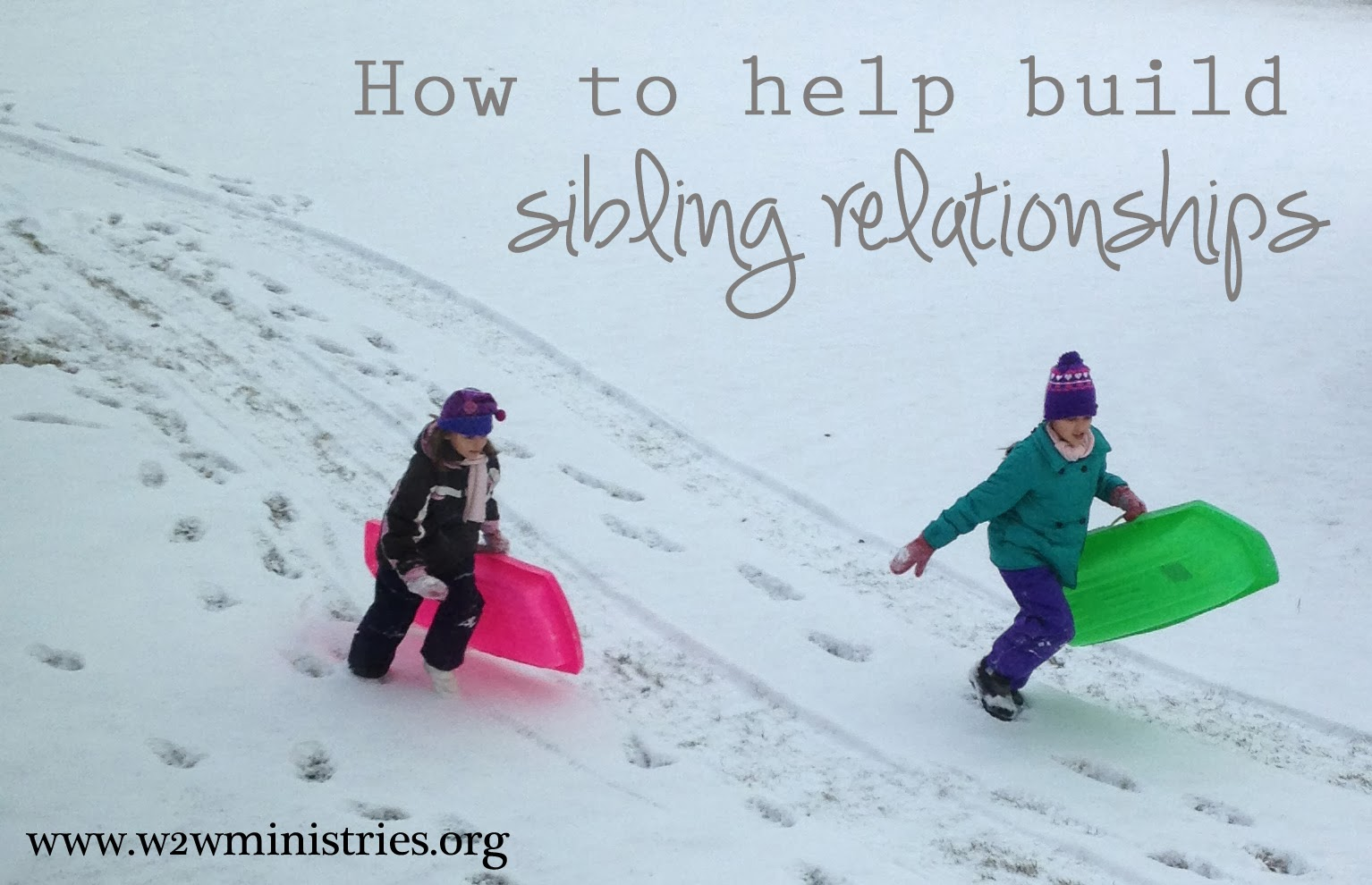 how to build strong sibling relationships