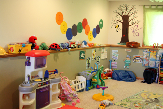 IHeart Organizing: A Perfectly Fantastic Playroom Before & After