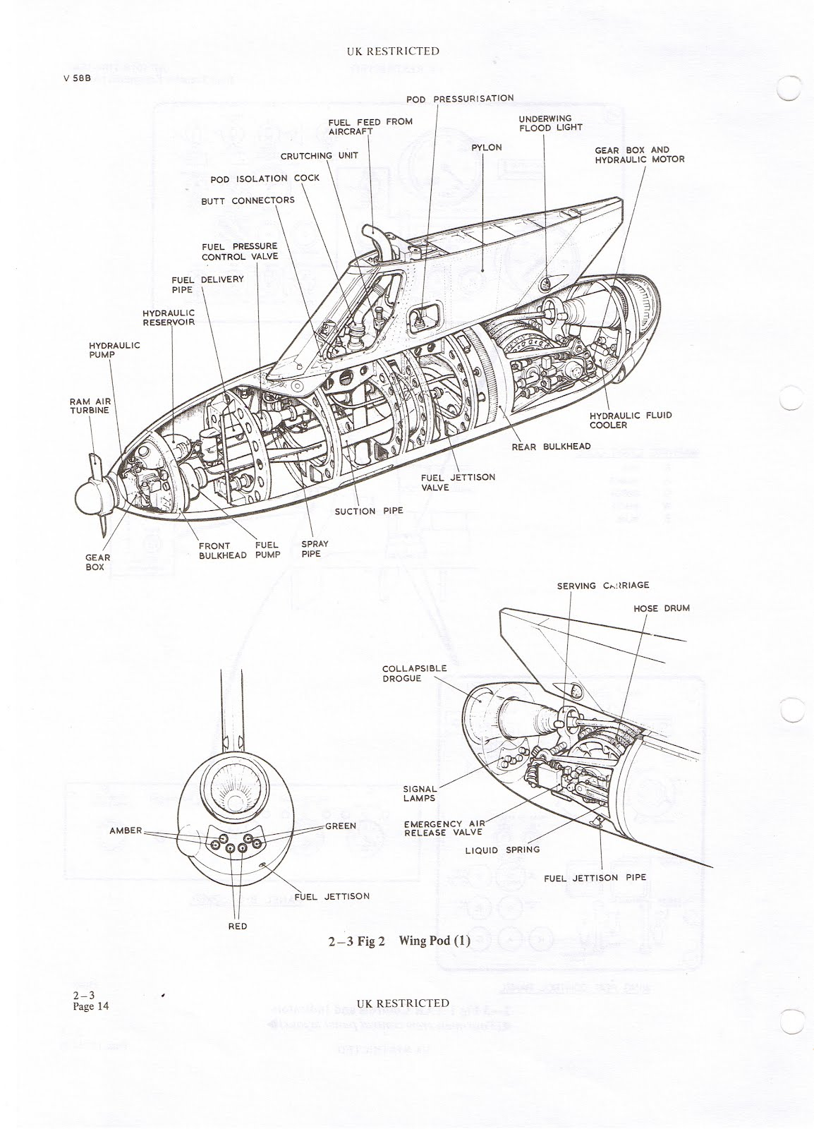 Victor Xl231 Lusty Lindy In Flight Refueling Harrier Engine Diagram Mk20b Pod