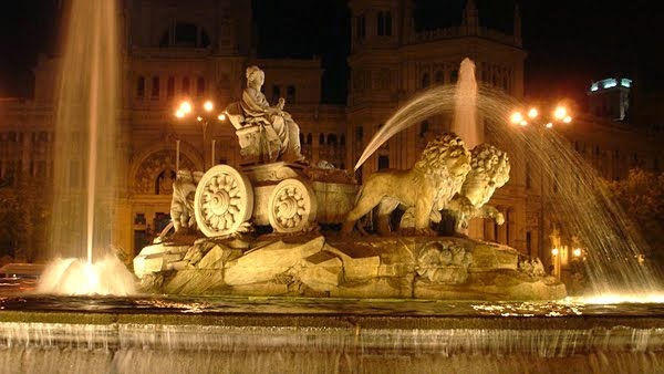Madrid: Fuente de la Cibeles